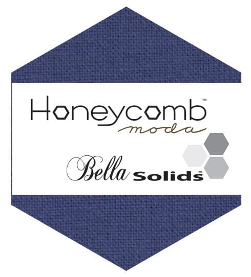 BLUE Moda Honeycomb + Free Pattern-0