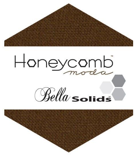 BROWN Moda Honeycomb + Free Pattern-0