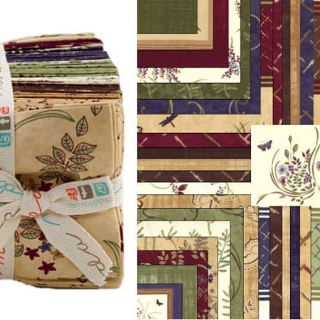 Enchanted Pond Fat Quarter Bundle-0