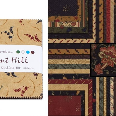 "Pheasant Hill 5"" Charm Pack-0"
