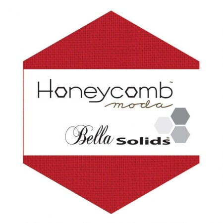 RED Moda Honeycomb + Free Pattern-0