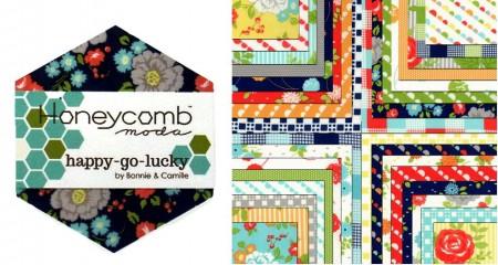 Happy Go Lucky Moda Honeycomb + Free-0