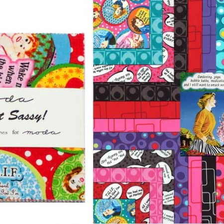 "Keep It Sassy! 5"" Charm Pack-0"
