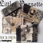 Little Black Dress Pursettes Kit-0