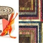 Paint Box Batiks Jelly Roll - Canvas-0