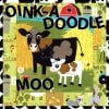 Oink A Doodle Moo Fabric Panel + FREE PATTERN-15196