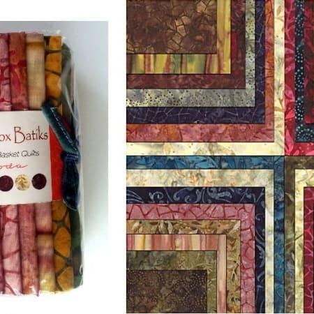Paint Box Batiks Fat Eighth Bundle-0