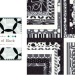 """Shades of Black 2.5"""" Charm Pack-0"""
