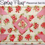 Spring Fling Placemats Kit Set of 4-0