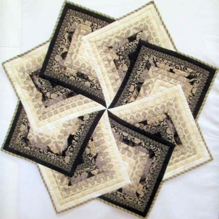 Little Black Dress Quilt Kit-0