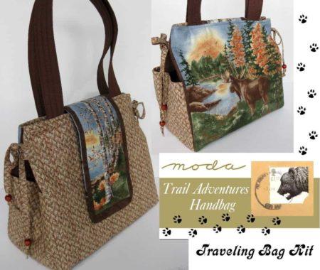 Trail Adventures Travel Bag - Purse / Handbag Kit-0