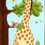 Zoe Growth Chart Fabric Panel + FREE-0