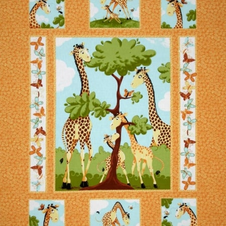 Zoe Quilt Craft Fabric Panel + FREE-0