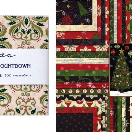 "Christmas Countdown 5"" Charm Pack-0"