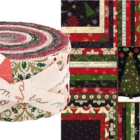 Christmas Countdown Moda Jelly Roll-0