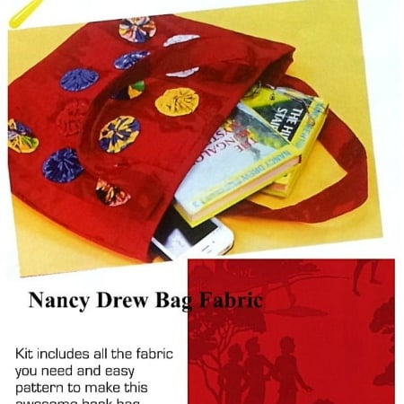 Get a Clue Nancy Drew Book Bag Kit-0