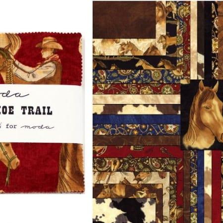 """Horseshoe Trail 5"""" Charm Pack-0"""