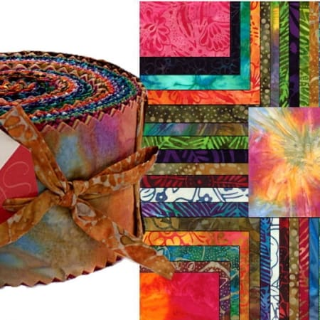 Island Sun Batiks Moda Jelly Roll-0