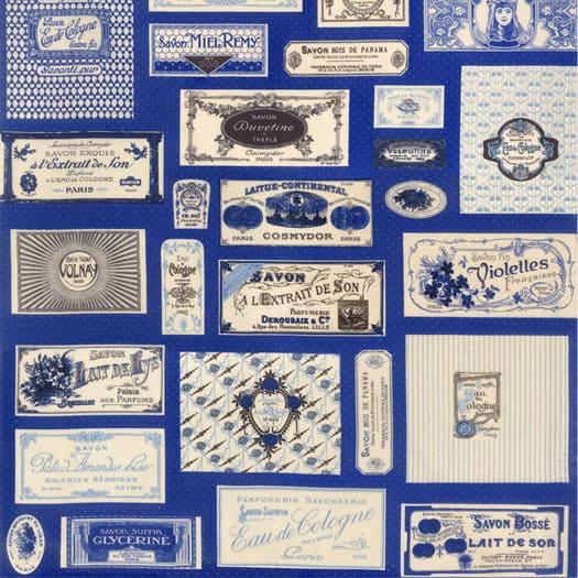 Savonnerie Soap Labels - 21630 14 - Blue-0