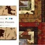 "Boundary Water Flannels 5"" Charm Pack-0"