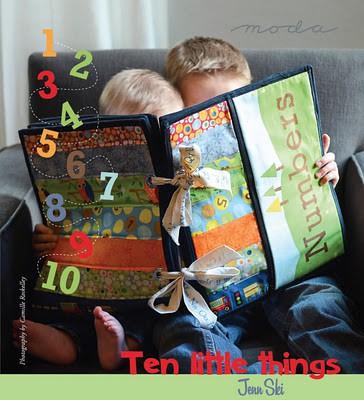 Ten Little Things Fabric Panel Pattern-0
