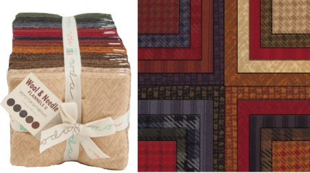 Wool Needle Flannels II Fat Quarter-0