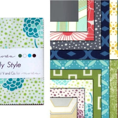"Simply Style 5"" Charm Pack-0"