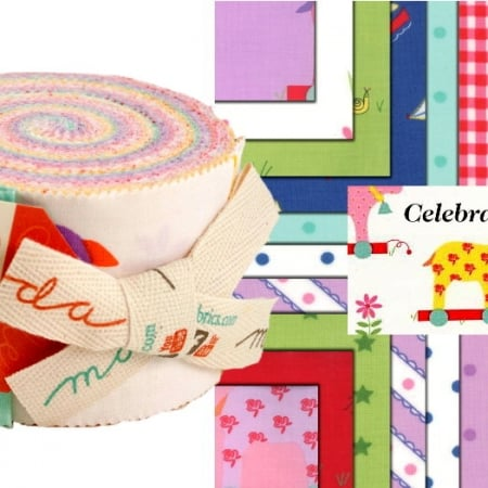 Celebration Junior Moda Jelly Roll - Girl-0