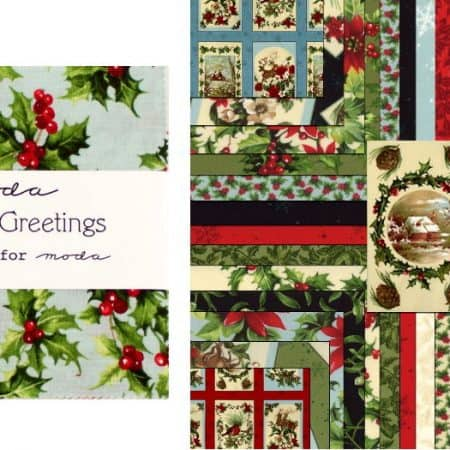 "Seasons Greetings 5"" Charm Pack-0"