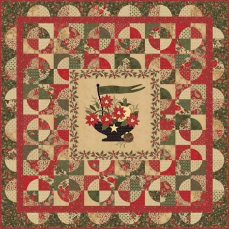 Wintergreen Quilt Pattern-0