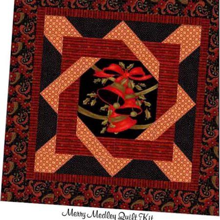 Merry Medley Quilt Kit + BONUS !-0