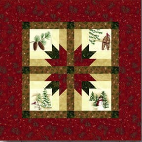 Holiday In The Pines Table Topper Kit-0