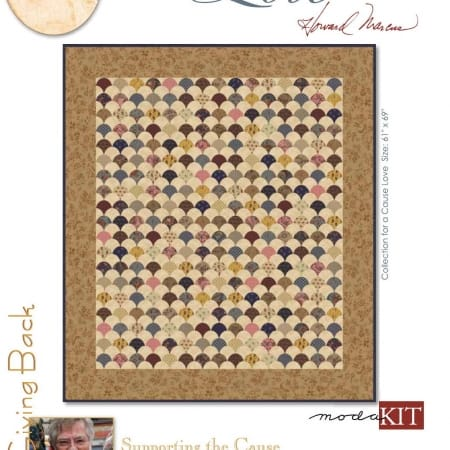 Collections Love Quilt Kit-0