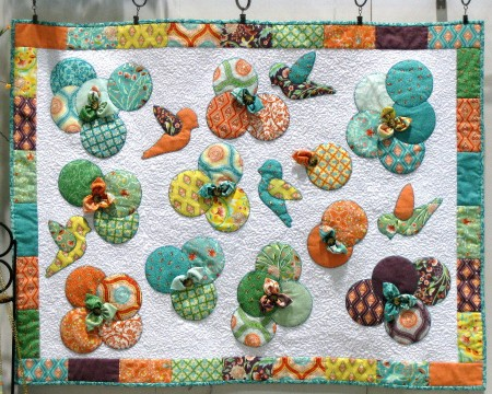 Birds & Berries Quilt Kit-0