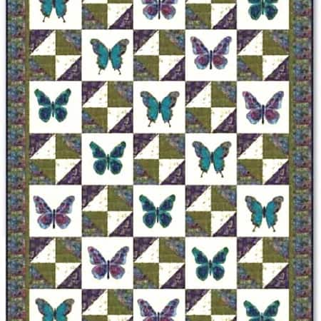 Enchanted Pond Quilt Kit-0