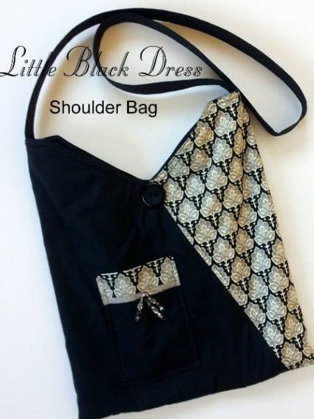 Little Black Dress Shoulder Bag Kit -0