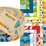 Mixed Bag Moda Jelly Roll-0