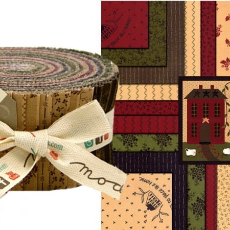 Homestead Gatherings Moda Jelly Roll-0