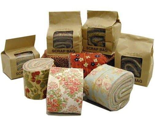 Moda Scrap Bags - Matching Fabric Strips
