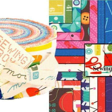 Sewing Box Moda Jelly Roll-0