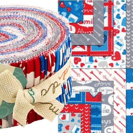 Airmail Moda Jelly Roll-0