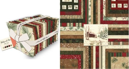 Holiday In The Pines Fat Quarter Bundle-0