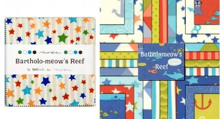 "Bartholomeows Reef 5"" Charm Pack-0"