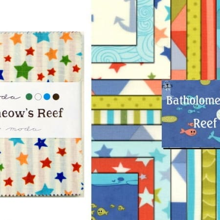 "Bartholomeows Reef 5"" Charm Pack-0"