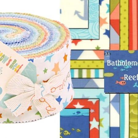 Bartholomeows Reef Moda Jelly Roll-0