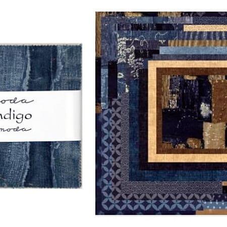 "Indigo 5"" Charm Pack-0"