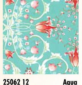 Birds & Berries - 25062 12 - Aqua-0