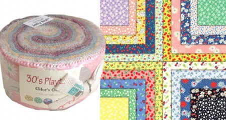 30s Playtime II Moda Jelly Roll-0