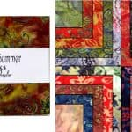 "Woodland Summer Batiks 5"" Charm Pack-0"
