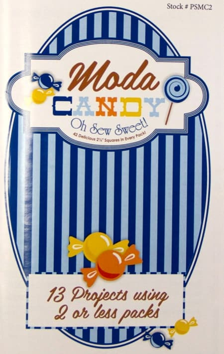 Moda Candy Projects Blue Booklet-0